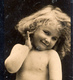 Early Advertisement Card, Very Charming Young Girl, Honig's Maizena, Real Photo - Reclame