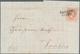 Österreich - Verwendung In Liechtenstein: 1868, 5 Kr. Rot Kaiserkopf Nach Rechts, Grober Druck, Type - Autriche