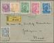 Österreich - Verwendung In Liechtenstein: 1912,21.11., Mischfrankatur Österreich/Liechtenstein 1,3,6 - Autriche