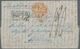 Niederländisch-Indien: 1848, Folded Letter From The Hague Via Marseille To Batavia With Rare Ra2 LAN - Nederlands-Indië