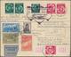 Katapult- / Schleuderflugpost: 1933, Umschlag In LENINGRAD Als Einschreiben Per Luftpost Nach Berlin - Airmail