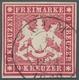 Württemberg - Marken Und Briefe: 1859, Ziffernausgabe 9 Kreuzer Besonders Farbfrisch Und Allseits Vo - Wuerttemberg