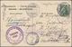 Deutsch-Südwestafrika: 1905/1907, Vier Ansichtskarten (einmal Beschnitten) Und Zwei Umschläge Alle A - Colonie: Afrique Sud-Occidentale