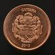 Guyana 1 Dollar 2015. Km50. UNC Coin - Guyana