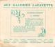 """BUVARD - """"GALERIES LAFAYETTE"""" - LES COLONIES FRANCAISES """"L'OCEANIE"""" - (16 X 19 Cm)... - G"""