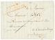 1813 P.122.P LEUWARDEN En Rouge Sur Lettre Pour OUDEBERKOOP. TB. - Storia Postale