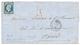 """1855 20c(n°14) + ARMEE D'ORIENT Bau P Sur Lettre Avec Texte Daté """"PONT De TRACKTIN"""" Pour PARIS. TB. - Postmark Collection (Covers)"""