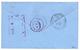 1901 20c + 25c + 30c Obl. CAYENNE GUYANE Sur Enveloppe RECOMMANDEE Pour NEW-YORK (USA). Superbe. - Guyana Francese (1886-1949)