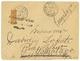 1904 DIEGO-SUAREZ Coupé Du 30c (n°91) Obl. VOHEMAR MADAGASCAR Sur Enveloppe. Cote 1200€. Signé SCHELLER. TTB. - Madagascar (1889-1960)