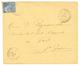 """""""GRAND ANSE"""" : 1892 CG 15c Obl. MARTINIQUE LA GRAND'ANSE Sur Env. Pour ST PIERRE. Bureau RARE. TTB. - Martinica (1886-1947)"""
