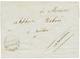 """""""POSTE AUX LETTRES Pour SEDHIOU"""" : 1859 DIRECTION DE LA POSTE AUX LETTRES/ ST LOUIS Sur Lettre Avec Texte De ST LOUIS Po - Senegal (1887-1944)"""