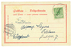 1900 5pf Canc. APIA On Card (Gruss In Color MALIETOA) To POSTDAM. Signed LANTELME. Vf. - Colony: Samoa