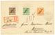 1900 3pf + 5pf + 25pf Canc. APIA SAMOA On REGISTERED Envelope To WIESBADEN. Superb. - Colony: Samoa