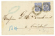 1875 GERMANY 20 Pfge (x2) Canc. KAISERL. DEUTSCHE P.A CONSTANTINOPEL On Cover To VENEZIA (ITALY). Vf. - Kantoren In Het Turkse Rijk