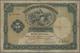 "Azores / Azoren: Banco De Portugal With Overprint ""MOEDA INSULANA"" On PORTUGAL #83, 5 Mil Reis 1905, - Portugal"