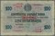 "Bulgaria / Bulgarien: 100 Leva Zlato ND(1960) P. 20c With Red Overprint ""Series A"" And Red Ornament - Bulgarije"