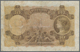 Portugal: Banco De Portugal 10 Escudos 1920, P.117, Still Nice With A Number Of Repared Parts At Upp - Portugal