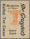 Deutschland - Briefmarkennotgeld: BERLIN, De Gruyter's, Kaffee-Tee-Cacao, 10 Pf. Germania Orange, Im - Duitsland