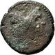 Pompeius Magnus Pius (45 V.Chr.): Æ As, Mzst. Sizilien Oder Spanien; 30,5 Mm, 23,62 G, Schön. - 1. Republiek (280 BC Tot 27 BC)