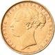 Australien - Anlagegold: Victoria 1837-1901: Sovereign 1879 M, Melbourne, Young Head. KM# 7, Friedbe - Australia