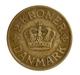 Dänemark: Christian X. 1912-1947: 2 Kronen 1924 HCN GJ. KM# 825.1, Seltener Jahrgang, Sehr Schön. - Danemark