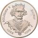 Polen: Lot 2 Münzen: 200 Zlotych 1981 König Boleslaw II. Smialy 1058-1079. Als Normalprägung KM# Y 1 - Pologne