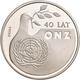 Polen: Lot 6 Münzen: 1.000 Zlotych PROBA 1984-1987: Wincenty Witos, KM# PR 505; Pomnik Szpital, KM# - Pologne