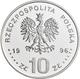 Polen: 10 Zlotych 1996, Stanislaw Mikolajczyk, KM# Y 317, Fischer K (10) 007. Polierte Platte. - Pologne