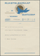 Thematik: Tiere-Vögel / Animals-birds: 1935, The Netherlands. Complete Congratulatory Telegram With - Vogels