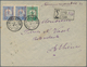 Epirus - Lokalausgaben: Argyrokastron: 1914, 5 L On 10 Pa Green And Se-tenant Horizontal Pair 20 L & - North Epirus