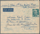 Frankreich - Militärpost / Feldpost: 1946, France, 2 F Blue-green 'Marianne', Tied By Blue Cds POSTE - Militaire Zegels (zonder Portkosten)