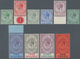 Gibraltar: 1912, KGV Definitives With Mult Crown CA Wmk. Complete Set Of Ten, Mint Lightly Hinged, S - Gibilterra