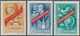 China - Volksrepublik: 1959, 10th Anniv Of People's Republic (1st Issue) (C67), Complete Set Of 3, M - 1949 - ... People's Republic