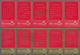 China - Volksrepublik: 1967, Mao's Theses, Both Strips Of Five, Unfolded, Nos. 972-976 With Altered - Lettres & Documents