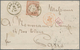 Deutsches Reich - Brustschild: 1872, Großer Schild 9 Kr. Rötlichbraun Als Einzelfrankatur Auf Faltbr - Allemagne