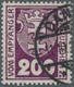 Danzig - Portomarken: 1923, 200 (Pf) Dunkelviolettpurpur, Wasserzeichen Maschen Liegend, Zeitgerecht - Danzig