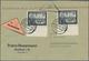 Deutsches Reich - 3. Reich: 1942, 16 Pfg. Postkameradschaft II, Zwei Werte Vom Unterrand Als Portoge - Allemagne