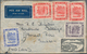 Brunei: 1946/73, Foreign Covers (24 Inc. 8 Registered) To England, Malaysia And Singapore Inc. Two 1 - Brunei (1984-...)