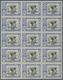 Spanisch-Marokko: 1926, Red Cross – Royal Family 20c. Blue/black EXPRESS Stamp With Black Opt. 'ZONA - Maroc Espagnol
