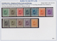 Jugoslawien: 1921/1943, Mainly U/m Assortment On Retail Cards, Comprising Definitive Sets, Commemora - 1919-1929 Regno Dei Serbi, Croati E Sloveni