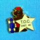 1 PIN'S //  ** T.O.C. DIST. 40 / SKATEBOARD ** - Skateboard