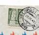 Nederlands Indië / Indonesia - 1949 - 40 Sen Gebouwen - Enkelfrankering Van KB VELDPOST BATAVIA/5 Naar Den Haag - Indes Néerlandaises
