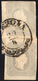 1861 - 1,05 Soldi Grigio Chiaro (10), Due Esemplari, Uno Sfiorato In Alto, Usati Su Piccolo Framment... - Lombardije-Venetië