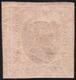 1853 - 40 Cent. Rosa Chiaro (6), Angolo Di Foglio, Gomma Originale, Due Lievi E Consuete Grinze Di G... - Sardinien
