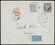 1917 - 15 + 5 Cent. Croce Rossa, Falso Per Posta Stampato In Oltremare Anziché Grigio, Dent. 13 1/2,... - Non Classificati