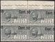 1927 - 50 Cent. Su 60 Cent., Soprastampa Fortemente Spostata A Destra Ed Obliqua (8d+8g), Blocco Di ... - Italy
