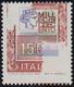 1979 - 1.500 Lire Alti Valori (1438), Stampa Del Rosso Parzialmente Mancante, Gomma Integra, Perfett... - 6. 1946-.. Republic