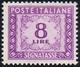 1955 - 8 Lire, Filigrana Stelle (112), Buona Centratura, Gomma Integra, Perfetto.... - 1946-.. Republiek