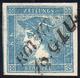AUSTRIA FRANCOBOLLI PER GIORNALI 1851 - 0,6 K. Mercurio Azzurro, I Tipo, Usato, Perfetto. Bello!... - Altri - Europa