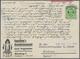 Nachlässe: 1915/1996 Ca., 6 Briefauswahlhefte Mit Deutschen Briefen Und Ganzsachen Mit Hauptwert Deu - Kilowaar (min. 1000 Zegels)